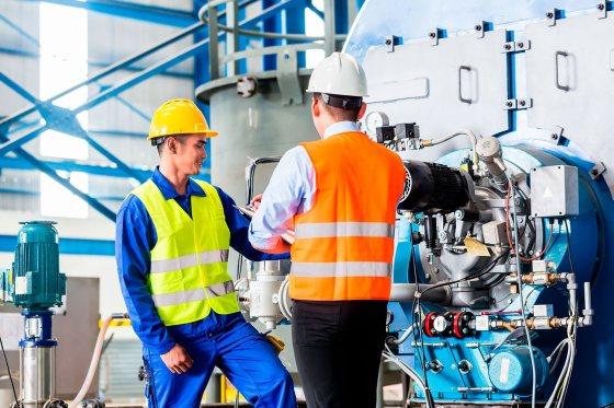 Formación de equipos para infraestructuras de gas