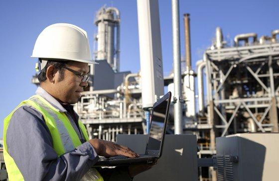 operación en infraestructuras de gas